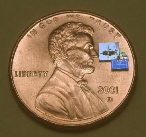 Smart Dust pada sekeping sen (ini kecil sekali)